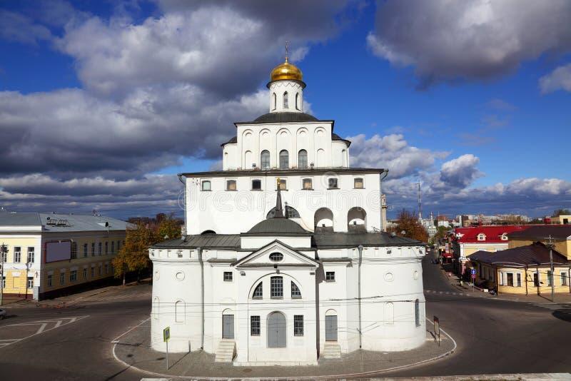 πύλες χρυσή Ρωσία vladimir στοκ φωτογραφία