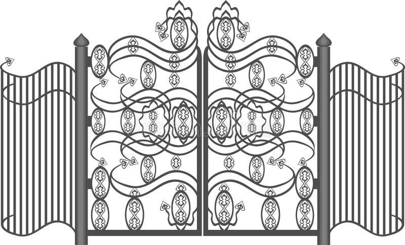 πύλες διανυσματική απεικόνιση