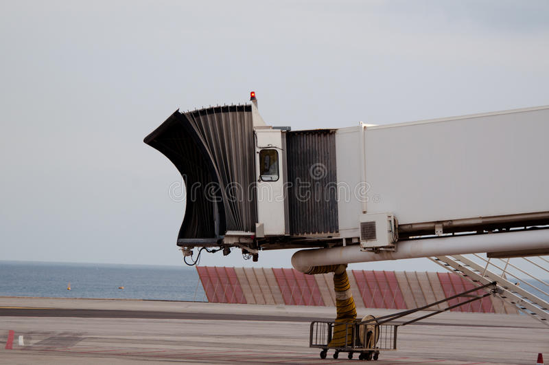 πύλη δάχτυλων ακτών αερολ& στοκ εικόνες με δικαίωμα ελεύθερης χρήσης