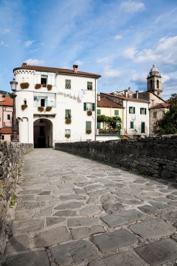 Πύλη εισόδων, Pontremoli, Ιταλία στοκ εικόνα με δικαίωμα ελεύθερης χρήσης