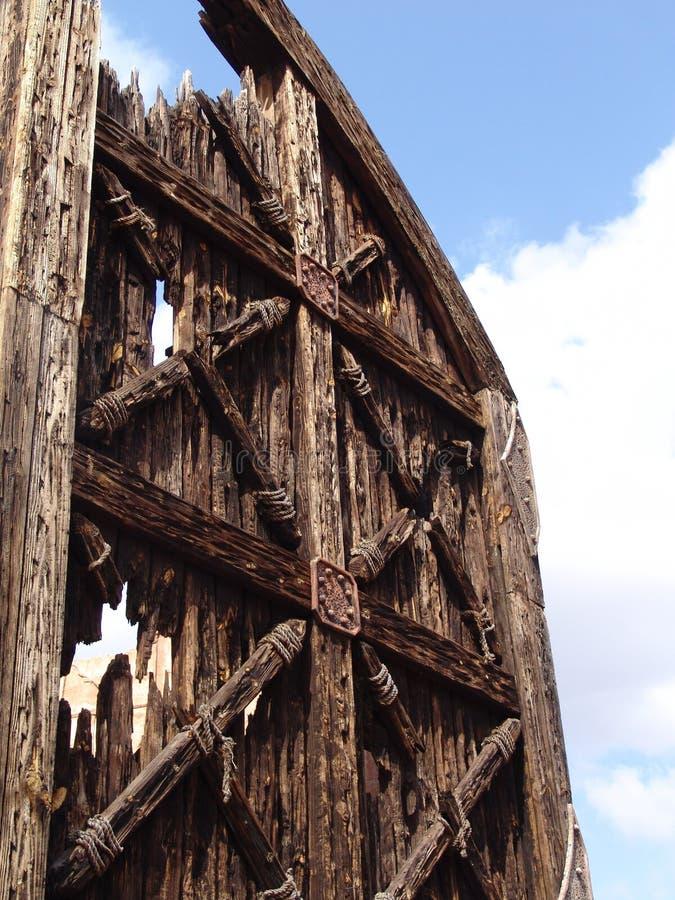 πύλη παραδοσιακή στοκ φωτογραφία με δικαίωμα ελεύθερης χρήσης