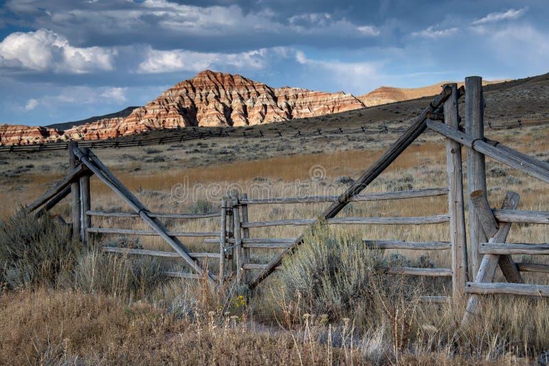 Πύλη στο Badlands του Ουαϊόμινγκ στοκ φωτογραφίες με δικαίωμα ελεύθερης χρήσης