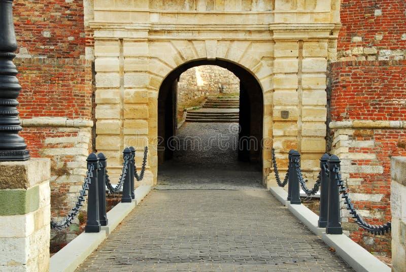 Πύλη φρουρίων Βελιγραδι'ου στοκ εικόνες με δικαίωμα ελεύθερης χρήσης