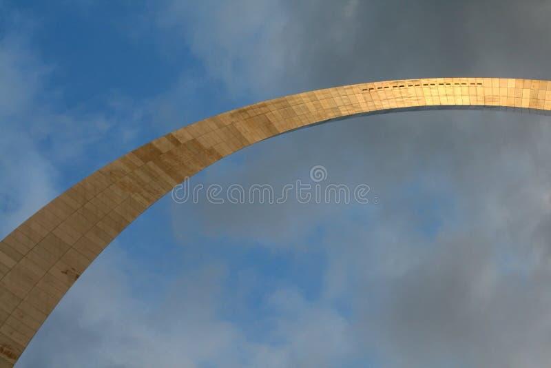 πύλη Louis ST αψίδων στοκ φωτογραφία με δικαίωμα ελεύθερης χρήσης