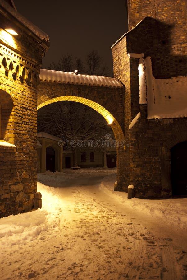 πύλη ostrow στο tumski wroclaw στοκ φωτογραφίες με δικαίωμα ελεύθερης χρήσης