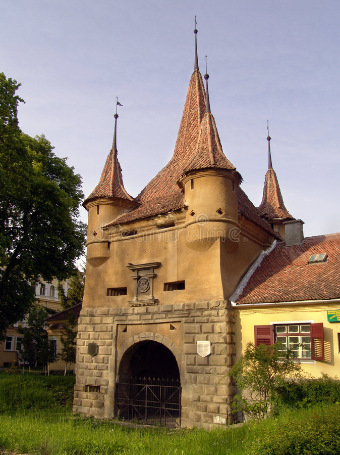 πύλη s ecaterina στοκ εικόνα
