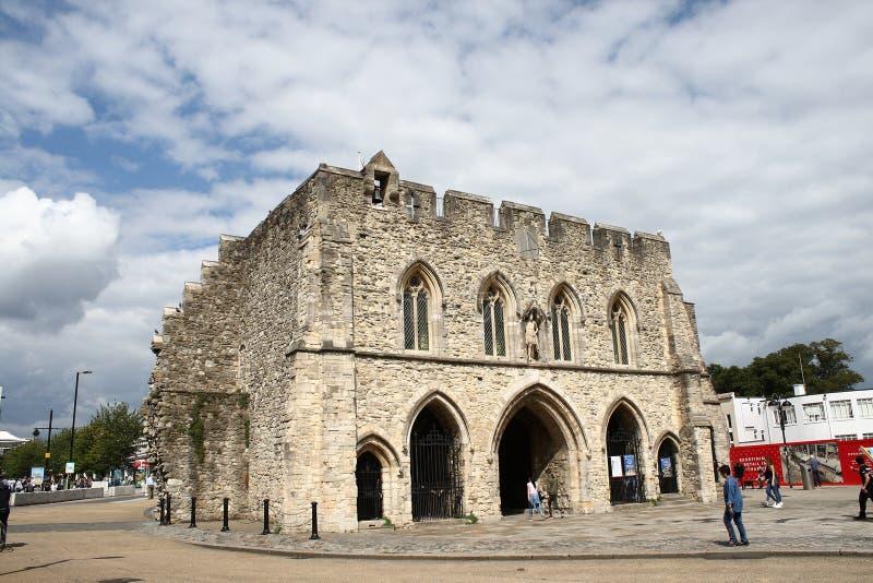 Πύλη 1290 Southampton UK Bargate στοκ εικόνα