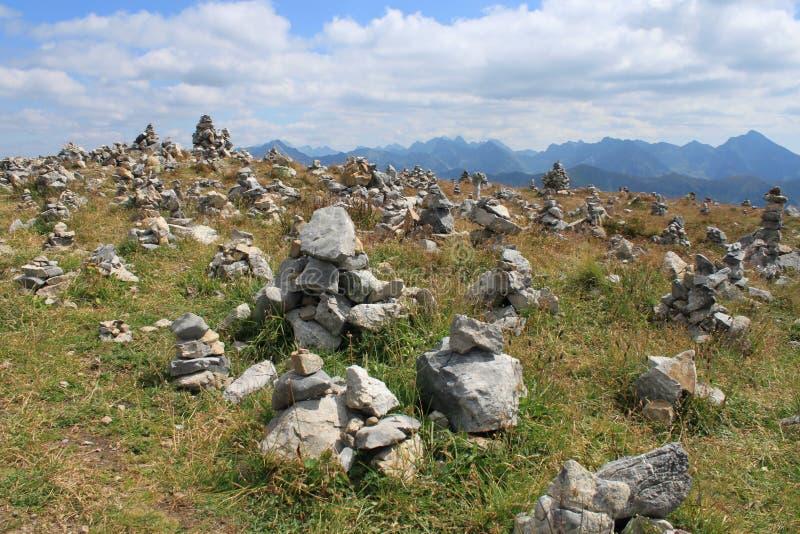 Πύργοι βράχου στοκ φωτογραφίες
