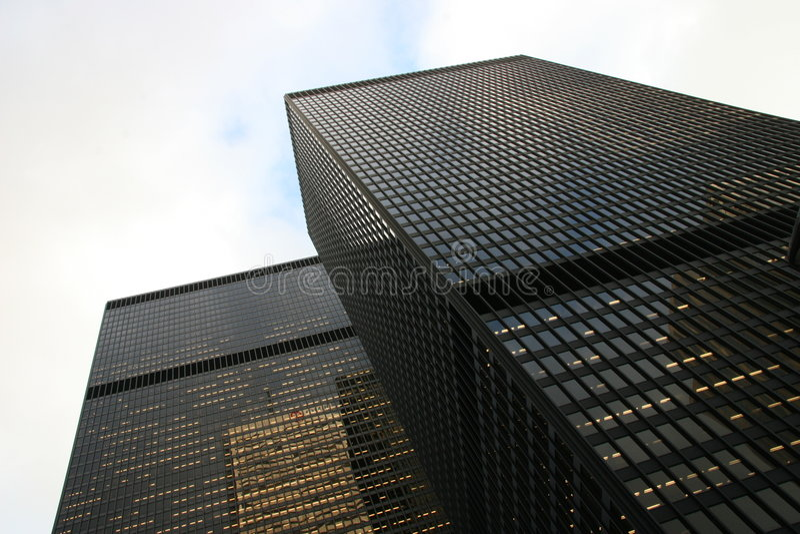 πύργοι γραφείων στοκ εικόνες