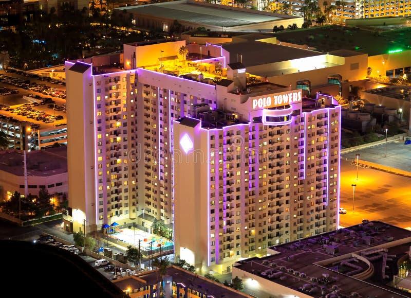 Πύργοι Λας Βέγκας πόλο στοκ φωτογραφία με δικαίωμα ελεύθερης χρήσης