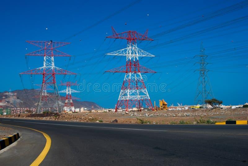 Πύργοι μετάδοσης στοκ εικόνα με δικαίωμα ελεύθερης χρήσης