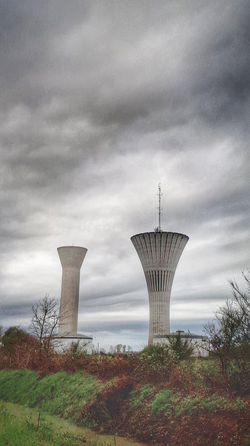 Πύργοι νερού στοκ φωτογραφίες