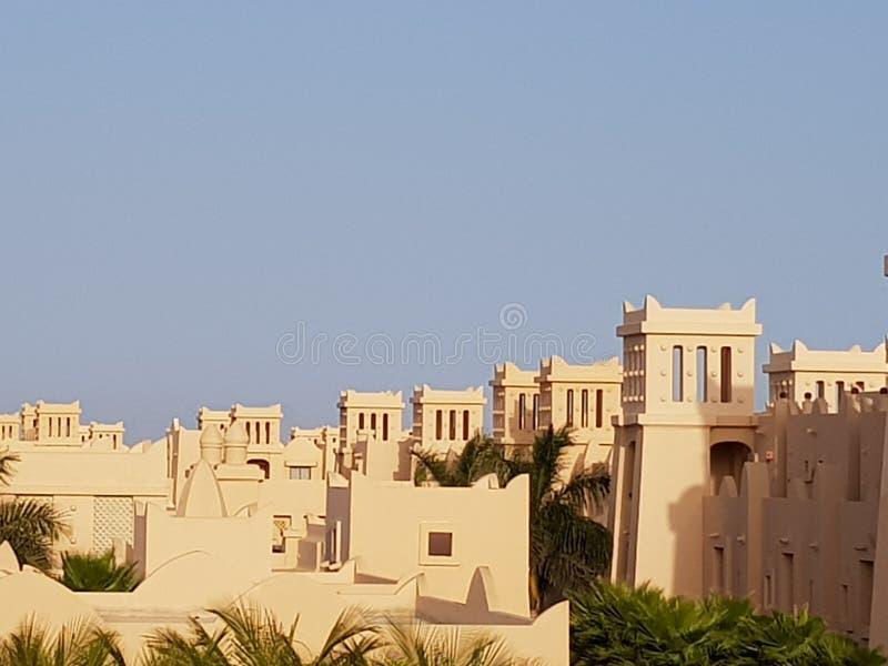 Πύργοι ξενοδοχείων της Rui Touraeg στην Boa Vista, Πράσινο Ακρωτήριο στοκ εικόνα με δικαίωμα ελεύθερης χρήσης