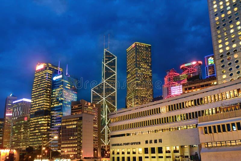 Πύργοι σε κεντρικό, Χονγκ Κονγκ στοκ φωτογραφία με δικαίωμα ελεύθερης χρήσης