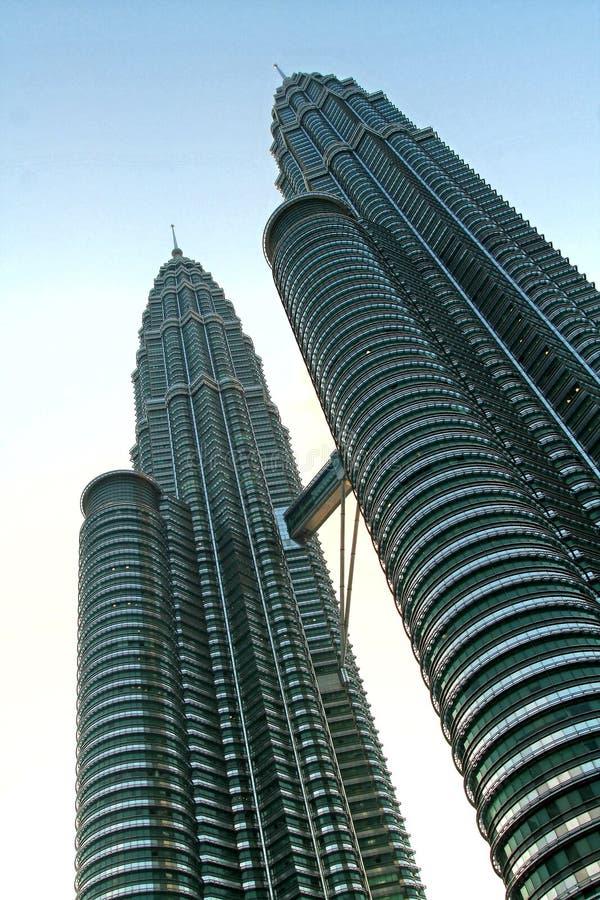 πύργοι petronas στοκ φωτογραφία με δικαίωμα ελεύθερης χρήσης