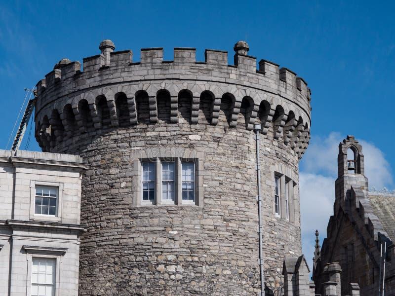 Πύργος αρχείων, Δουβλίνο Castle, Ιρλανδία στοκ φωτογραφία με δικαίωμα ελεύθερης χρήσης