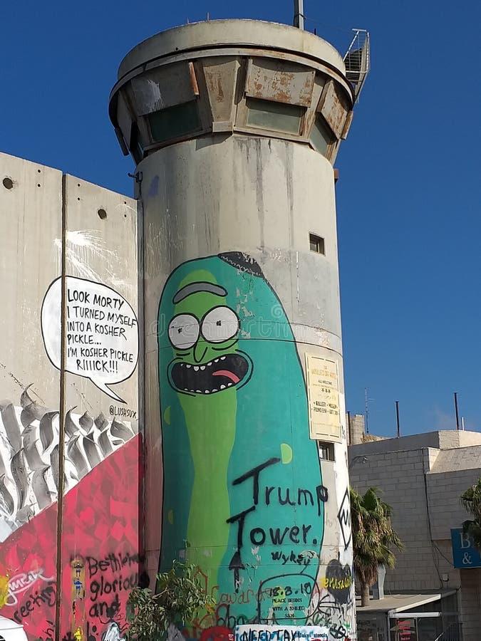 Πύργος ατού στη Βηθλεέμ στοκ φωτογραφία με δικαίωμα ελεύθερης χρήσης