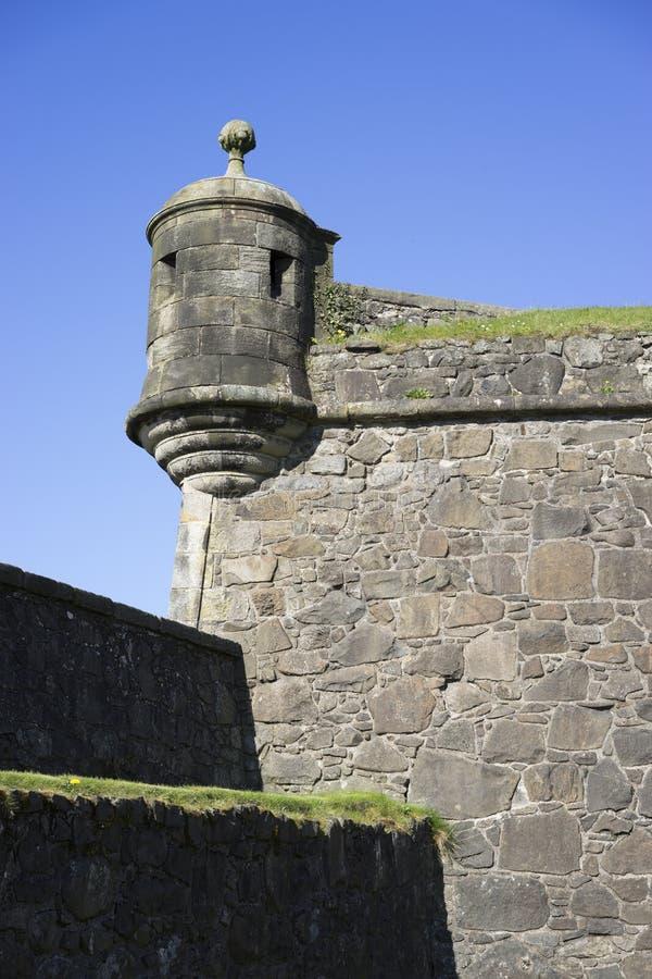 Πύργος γωνιών του Castle - κατακόρυφος στοκ φωτογραφία