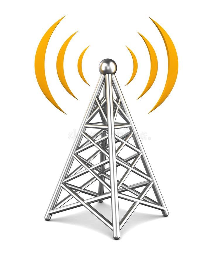 Πύργος επικοινωνίας ελεύθερη απεικόνιση δικαιώματος
