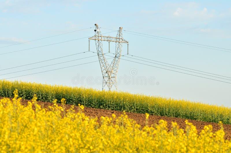 Πύργος ηλεκτροφόρων καλωδίων #10 στοκ εικόνα