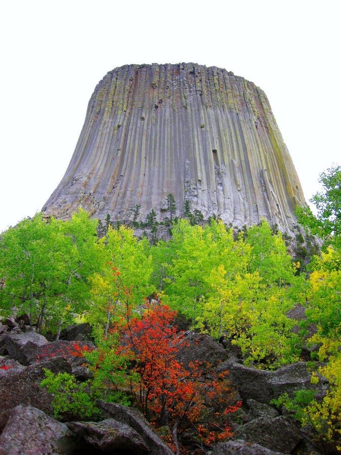Πύργος διαβόλων στοκ φωτογραφίες με δικαίωμα ελεύθερης χρήσης