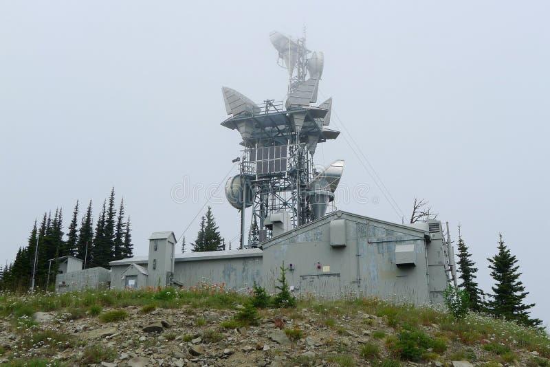 Πύργος δικτύων κινητών τηλεφώνων στοκ φωτογραφίες με δικαίωμα ελεύθερης χρήσης