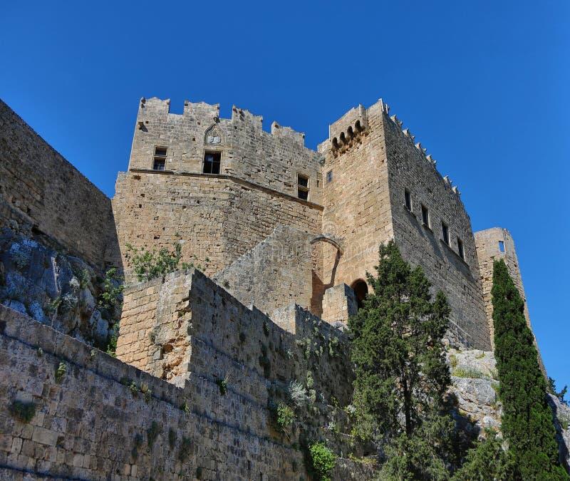 Πύργος κάστρων της Ρόδου στοκ εικόνες με δικαίωμα ελεύθερης χρήσης