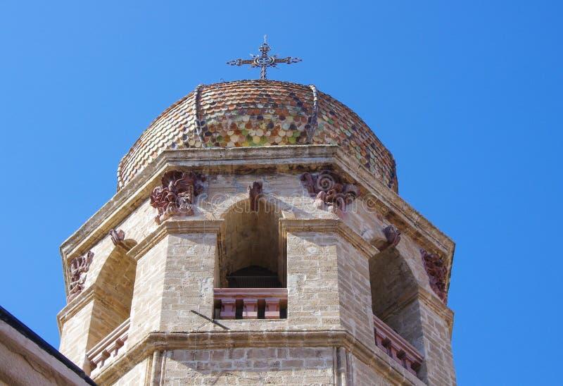 Πύργος και θόλος κουδουνιών στοκ εικόνες