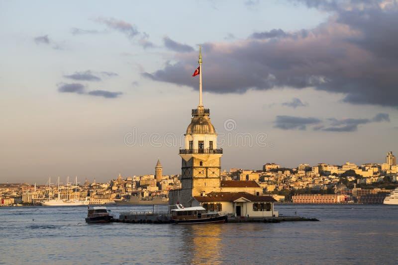 Πύργος κοριτσιού στοκ φωτογραφία με δικαίωμα ελεύθερης χρήσης