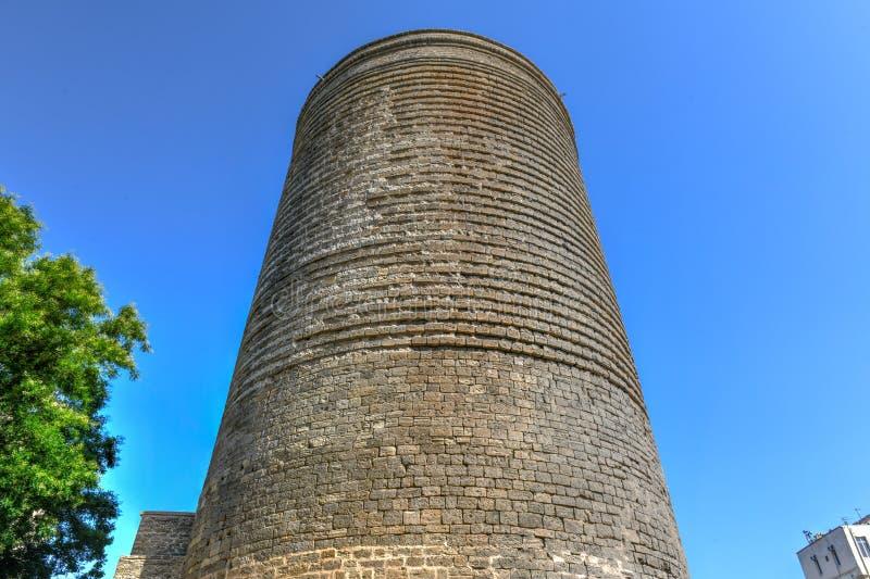 Πύργος κοριτσιών - Μπακού, Αζερμπαϊτζάν στοκ εικόνες