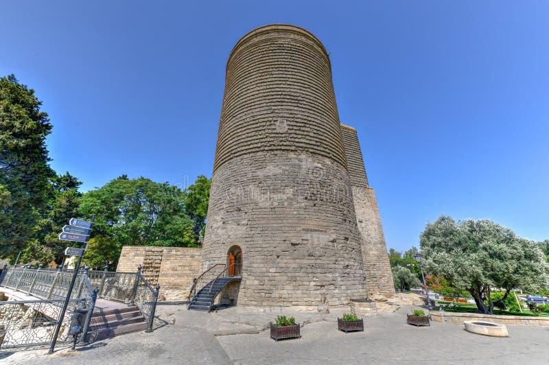Πύργος κοριτσιών - Μπακού, Αζερμπαϊτζάν στοκ εικόνα με δικαίωμα ελεύθερης χρήσης