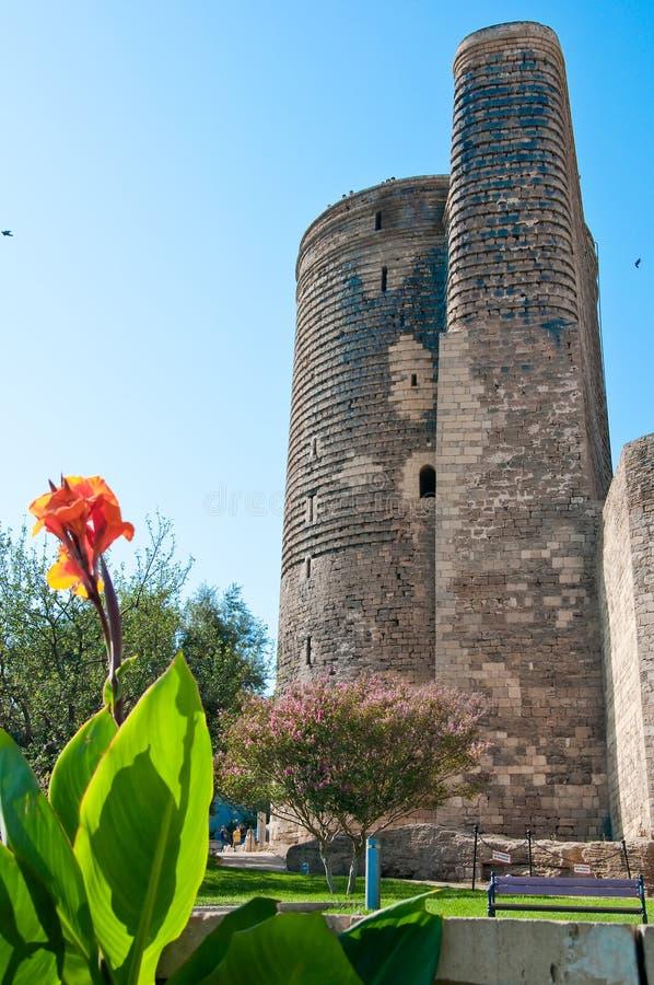 πύργος κοριτσιών στοκ εικόνα