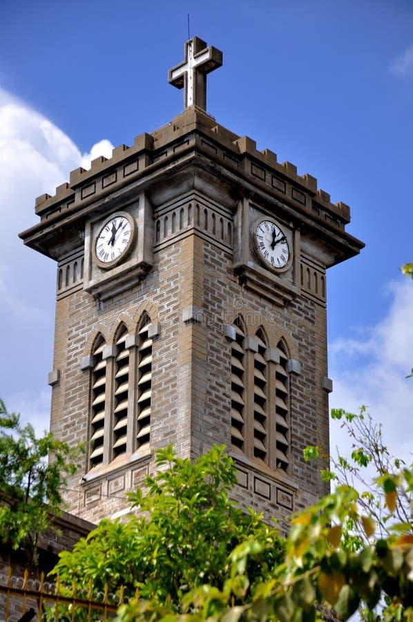 Πύργος κουδουνιών εκκλησιών στοκ εικόνα με δικαίωμα ελεύθερης χρήσης
