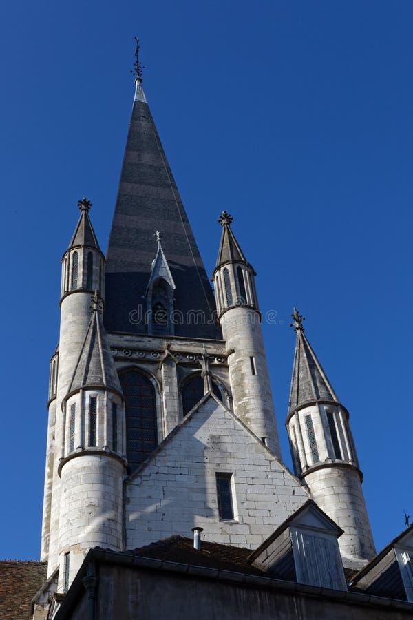Πύργος κουδουνιών στο κέντρο πόλεων της Ντιζόν στοκ φωτογραφίες