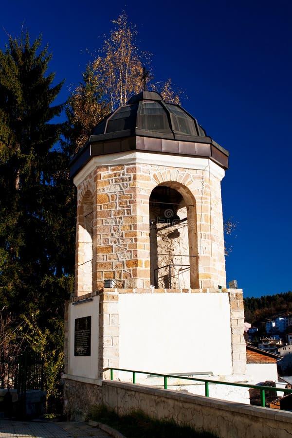 Download πύργος κουδουνιών στοκ εικόνα. εικόνα από ισπανικός, νεφελώδης - 17058537