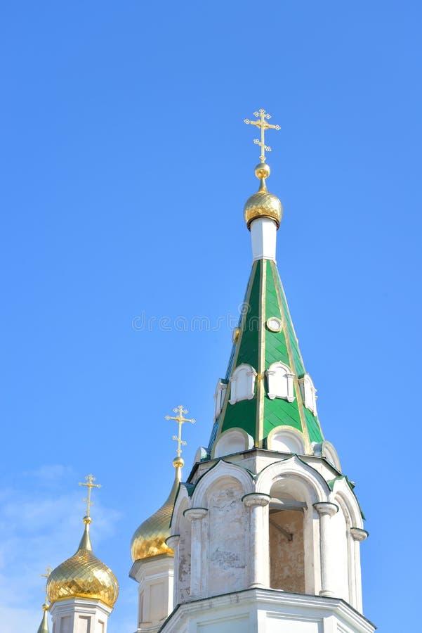 Πύργος κουδουνιών στη μονή Voskresensky Novodevichy στοκ φωτογραφίες με δικαίωμα ελεύθερης χρήσης
