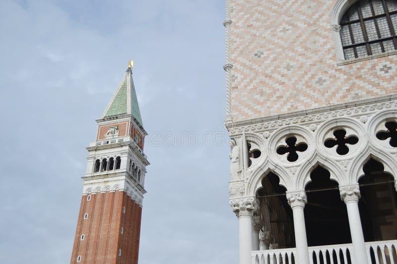 Πύργος κουδουνιών της Βενετίας στοκ φωτογραφίες
