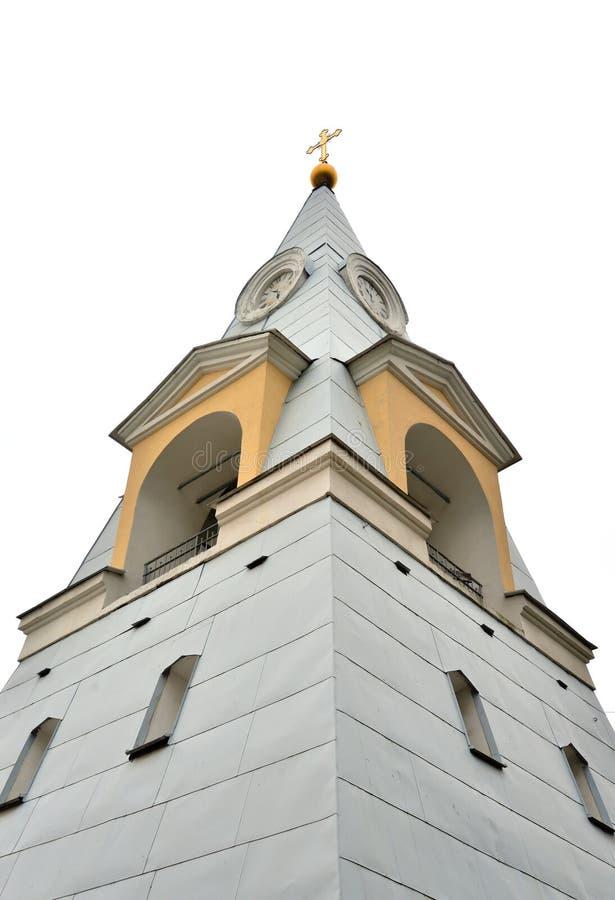 Πύργος κουδουνιών του κέικ Πάσχας εκκλησιών τριάδας και Πάσχας στοκ εικόνα με δικαίωμα ελεύθερης χρήσης