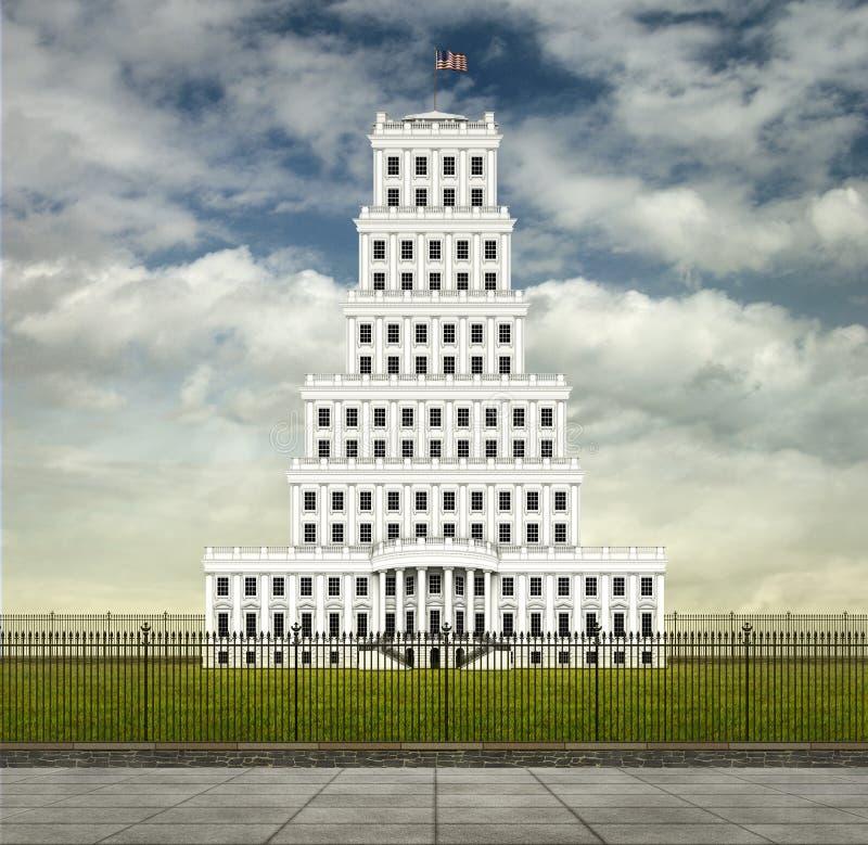 Πύργος Λευκών Οίκων ελεύθερη απεικόνιση δικαιώματος