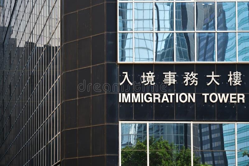 Πύργος μετανάστευσης στοκ φωτογραφίες