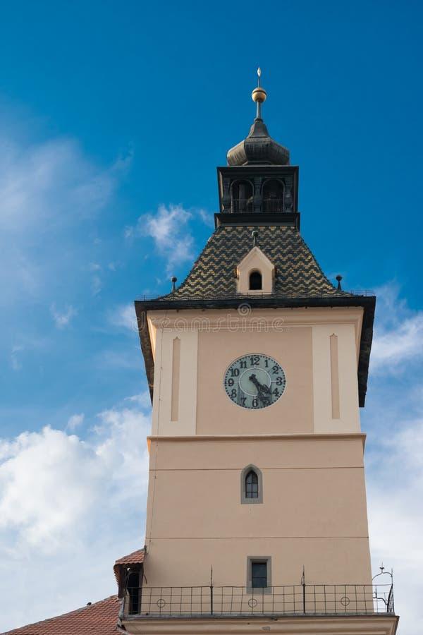 Πύργος μουσείων ιστορίας σε Brasov, Τρανσυλβανία, Ρουμανία στοκ εικόνες με δικαίωμα ελεύθερης χρήσης