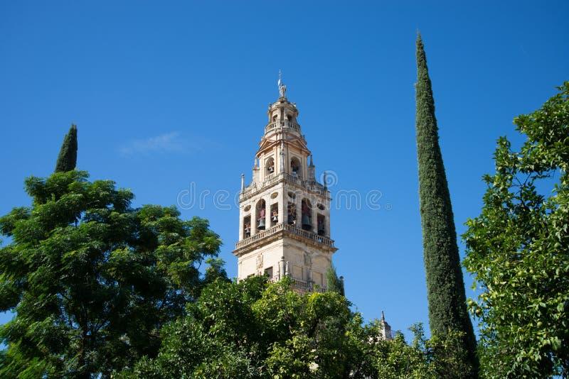 Πύργος μουσουλμανικών τεμενών Codoba στοκ φωτογραφίες