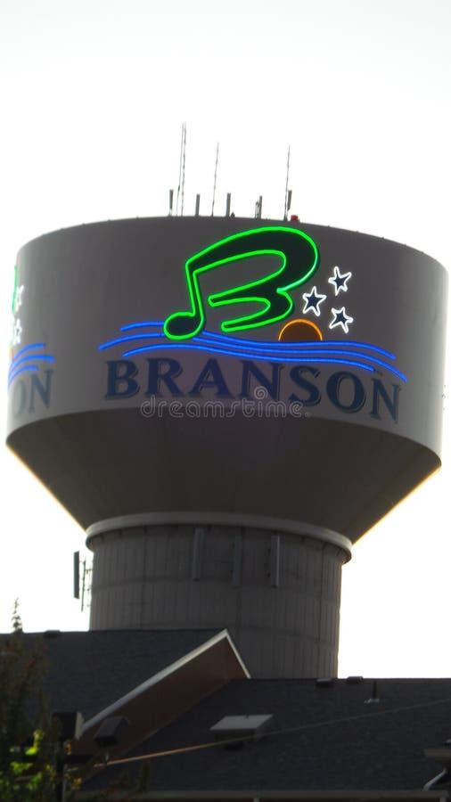 Πύργος νερού Branson στοκ εικόνες με δικαίωμα ελεύθερης χρήσης