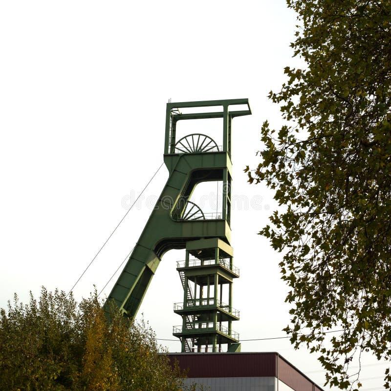 πύργος ορυχείων καλυμμάτ στοκ εικόνες