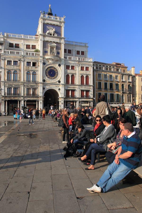 πύργος ρολογιών Βενετία στοκ εικόνες με δικαίωμα ελεύθερης χρήσης
