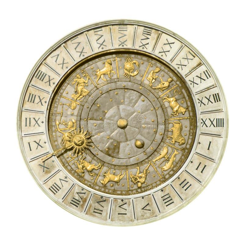 πύργος ρολογιών Βενετία στοκ εικόνα