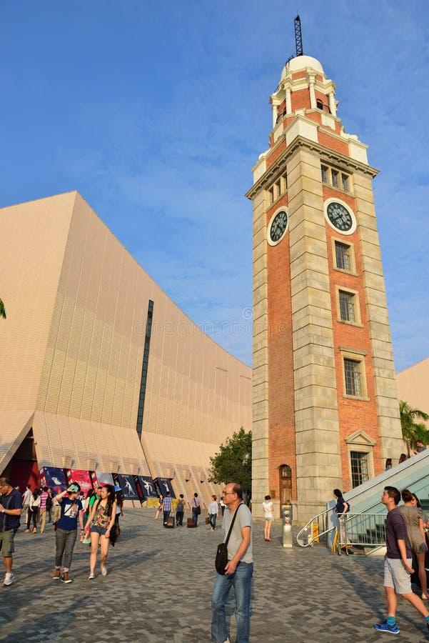Πύργος ρολογιών, Χονγκ Κονγκ στοκ φωτογραφία με δικαίωμα ελεύθερης χρήσης