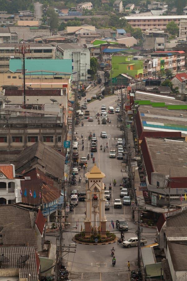 Πύργος ρολογιών Betong, Yala, Ταϊλάνδη στοκ φωτογραφίες με δικαίωμα ελεύθερης χρήσης