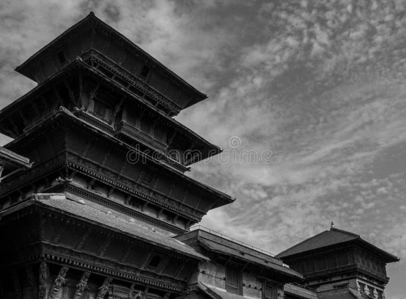 Πύργος ` ρολογιών Durbar ` Nautalle έξω στοκ φωτογραφίες