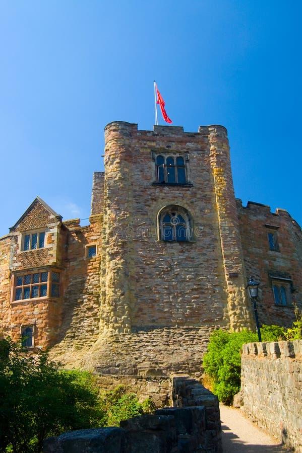 πύργος σημαιών κάστρων στοκ φωτογραφία με δικαίωμα ελεύθερης χρήσης